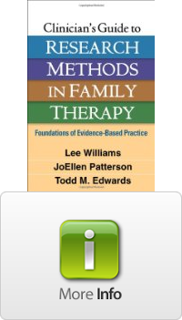 Solutions Clinicians Guide to Research Methods in Family ...